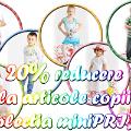 20% reducere la TOATE articolele pentru copii din Colectia Noua  miniPRIX