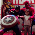 Supereroii Marvel s-au intalnit cu fanii romani