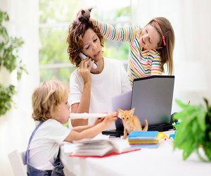 Cum echilibrezi munca de acasa cu copiii