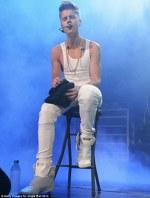 Justin a cantat la Tampa Jingle Ball