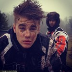 Justin Bieber murdar dupa ce s-a plimbat cu atv-ul