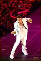 Justin Bieber a cantat in Dublin