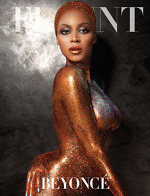 Beyonce in revista Flaunt 2013