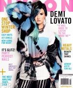 Demi Lovato pe coperta Nylon