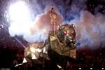 Katy Perry a cantat la finala Super Bowl 2015
