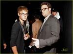 Justin Bieber si Seth Rogen