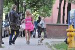 Sharpay Evans la plimbare cu Boi