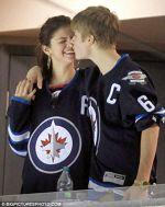 Justin, indragostit de Selena