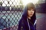 Bieber cu soarele in spate