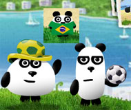 3 Pandas 3 in Brazil