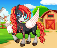 Horse Makeover Hair Salon 2