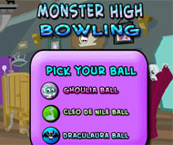 Monster High Bowling