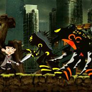 Mr. Bean Warrior