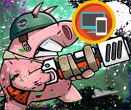Piggy Soldier Super Adventure