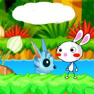 Rainbow Rabbit 3