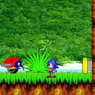 Sonic In Angel Island