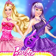 Barbie Princess vs Popstar