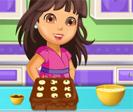 Dora Chocolate Banana Cake