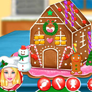 Ellie Gingerbread House Decoration
