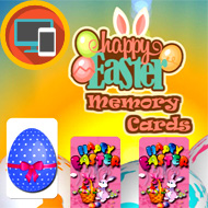 Happy Easter Memory Cards