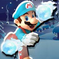 Mario Ice Land