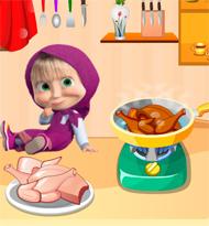 Masha Cooking Lesson