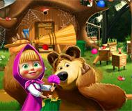 Masha and the Bear House Decoration
