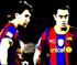 Lionel Messi & Xavi vs Zombie