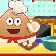 Pou Cooking Raffaello