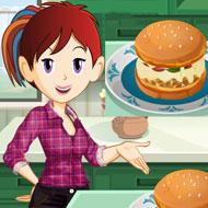 Sara's Cooking Class Pizza Burger